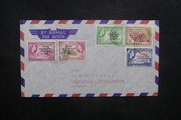 GHANA - Enveloppe Pour L 'Allemagne En 1959, Affranchissement Plaisant Surchargés - L 36914 - Ghana (1957-...)