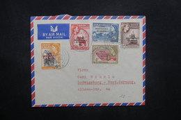 GHANA - Enveloppe  De Accra Pour L 'Allemagne En 1959, Affranchissement Plaisant Surchargés - L 36916 - Ghana (1957-...)