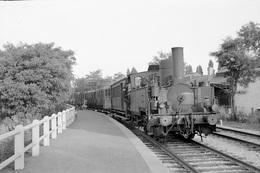 Lens-Sainte-Elisabeth. Chemin De Fer Des Houillères Nationales. Cliché Jacques Bazin. 15-09-1953 - Trains