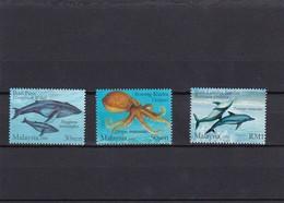 Malasia Nº 1054 Al 1056 - Malasia (1964-...)