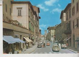 PISTOIA VIA CAVOUR AUTO CAR VIGILE PUBBLICITA' RICCADONNA - Pistoia