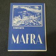 Tourism Brochure Portugal Mafra 1949 - Toeristische Brochures