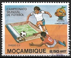 Mocambique – 1981 Football World Championship 2,50 Meticais - Mozambique