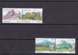 Malasia Nº 1033 Al 1036 - Malasia (1964-...)