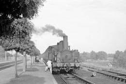 La Bassée-Violaines. Chemin De Fer Des Houillères Nationales. Cliché Jacques Bazin. 15-09-1953 - Trains