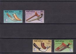 Malasia Nº 571 Al 574 - Malasia (1964-...)
