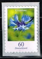 Bund 2019,Michel# 3481 ** Blumen: Kornblume Selbstklebend Von Der 2000er Rolle - [7] Federal Republic