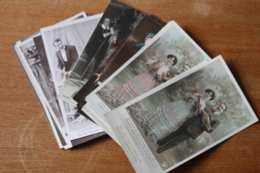30 Cartes Postales Anciennes Divers Fantaisie - Fantaisies