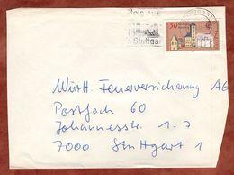 Brief, Europa Rathaus Regensburg, MS Steig Aus In Stuttgart, 1978 (77155) - BRD