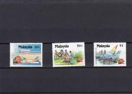 Malasia Nº 437 Al 439 - Malasia (1964-...)