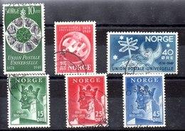 Series De Noruega N ºYvert 314/16+317/19 (o) Valor Catálogo 4.5€ OFERTA (OFFER) - Noruega