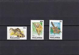 Malasia Nº 312 Al 314 - Malasia (1964-...)