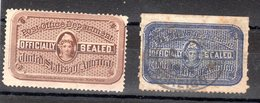 ETATS-UNIS - 2 Timbres Retour - - 1847-99 Unionsausgaben