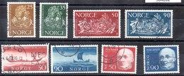Series De Noruega N ºYvert 452 A 459 (o) Valor Catálogo 11.5€ OFERTA (OFFER) - Noruega