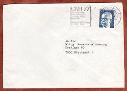 Brief, Heinemann, MS CMT Stuttgart, 1977 (77156) - BRD