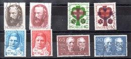 Series De Noruega N ºYvert 526 A 533 (o) Valor Catálogo 8.8€ OFERTA (OFFER) - Noruega