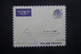 HONG KONG - Enveloppe 1er Vol Hong Kong / Hanoï En 1939 - L 36934 - Hong Kong (...-1997)