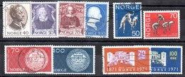 Series De Noruega N ºYvert 569 A 578 (o) Valor Catálogo 10.25€ OFERTA (OFFER) - Noruega