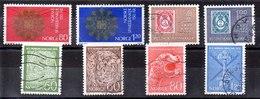 Series De Noruega N ºYvert 594 A 601(o) Valor Catálogo 8.0€ OFERTA (OFFER) - Noruega