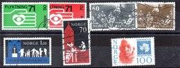 Series De Noruega N ºYvert 579 A 585 (o) Valor Catálogo 8.0€ OFERTA (OFFER) - Noruega