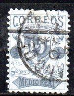 APR2005 - REPUBBLICA DOMINICANA 1879 , Yvert N. 21 Usato  (2380A) - Repubblica Domenicana
