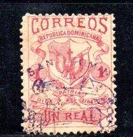 APR2006 - REPUBBLICA DOMINICANA 1879 , Yvert N. 22 Usato  (2380A) - Repubblica Domenicana