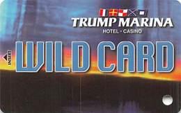 Trump Marina Casino Atlantic City NJ Slot Card  (BLANK Without *sm For Copyright) - Casinokaarten