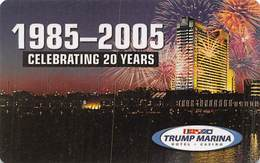 Trump Marina Casino Atlantic City NJ - BLANK Slot Card - Casino Cards