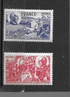 607 608  **   Y & T  Maréchal Pétain  26/04 - France