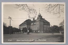 DE.- KIEL. OBERREALSCHULE II Am RONDEEL. 1933 - Kiel