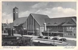 DEUTSCHLAND Allemagne ( Basse Saxe ) OLDENBURG I OLD : Bahnhof - CPSM Sépia 1938 - Germany Duitsland Alemania Germania - Oldenburg