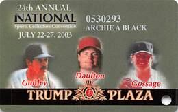 Trump Plaza Casino - Atlantic City NJ - Slot Card - Casinokarten