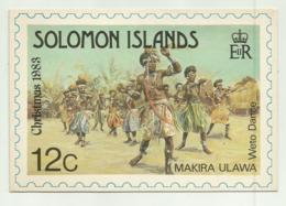 SOLOMON ISLANDS - MAKIRA PROVINCE VIAGGIATA FG - Solomon Islands