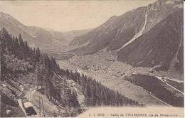 74 CHAMONIX MONT BLANC TRAIN A CREMAILLERE DU MONTENVERS GLACIER MER DE GLACE Editeur JULLIEN FRERES JJ 8838 - Chamonix-Mont-Blanc