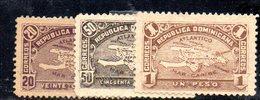 APR2014 - REPUBBLICA DOMINICANA 1900 , Tre Valori Senza Gomma (2380A) - Repubblica Domenicana