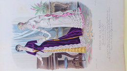 MODE- GRAVURE - IMPRIMERIE FALCONER -  - PARIS - 1881 - Prints & Engravings