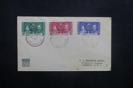 ILES CAÏMANS - Enveloppe FDC En 1937 Pour La Jamaïque - L 36960 - Kaimaninseln
