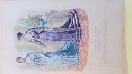 MODE- GRAVURE - IMPRIMERIE FALCONER -ILLUSTRATEUR A. CHAILLOT   - PARIS - 1880 - Prints & Engravings