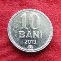Moldova 10 Bani 2013 KM# 7  Moldavia Moldavie - Moldavië