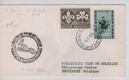 SJ182/ TP 1020-1022 S/L.1ère Mission De Gerlache C.Base Antarctique Pôle Sud 5/1/1958+c.Expédition > BXL C.d'arrivée - Bases Antarctiques