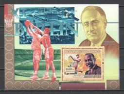 Guinee 2007 Mi Block 4615 MNH SUMMER OLYMPICS BERLIN 1936 - JESSE OWENS - Summer 1936: Berlin
