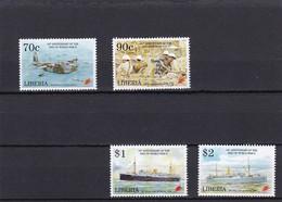 Liberia Nº 1273 Al 1276 - Liberia