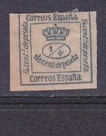 ESPAGNE, Royaume, Couronne Royale,  N° 129, Cote 2.5€( ES190801/6.3) - 1872-73 Reino: Amadeo I