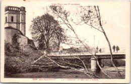 65 MAUBOURGUET - Le Clocher Et Le Pont Sur L'Adour - Maubourguet