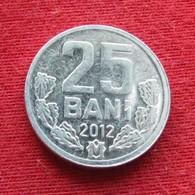 Moldova 25 Bani 2012 KM# 3  Moldavia Moldavie - Moldavië