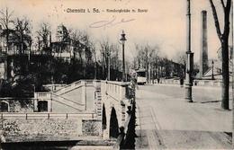 Chemnitz I. Sa. Kassbergbrücke M. Bastei TRAM - Chemnitz