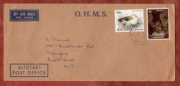Luftpost, Weihnachten U.a., Aitutaki Cook Islands Nach Mangere 1981 (77170) - Aitutaki