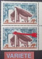 R1591/286 - 1965 - RONCHAMP - N°1435 NEUF** - VARIETE ➤➤➤ Croix Absente - Errors & Oddities