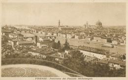 Firenze; Panorama Dal Piazzale Michelangelo - Circulated. (Giusti & Figli - Firenze) - Firenze (Florence)