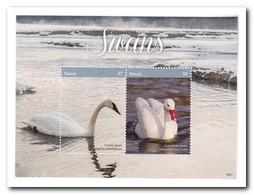 Nevis 2018, Postfris MNH, Birds, Swans - St.Kitts En Nevis ( 1983-...)